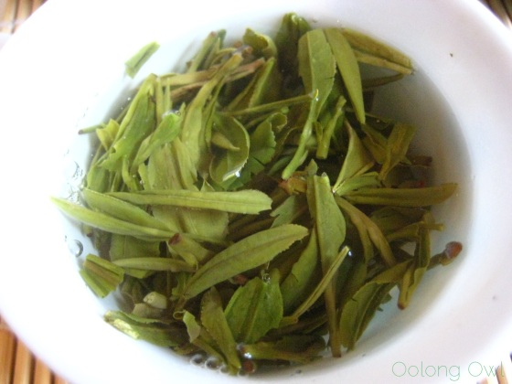 Mrs Li She Feng Dragonwell from Verdant Tea - Oolong Owl tea review (9)