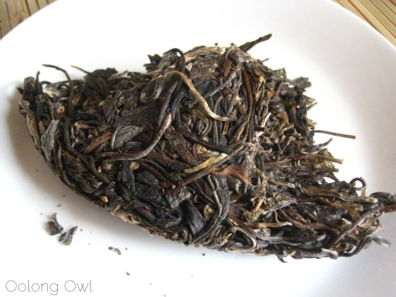 Autumn 2012 Sheng Pu er from Misty Peak Teas - Oolong Owl Tea Review (1)