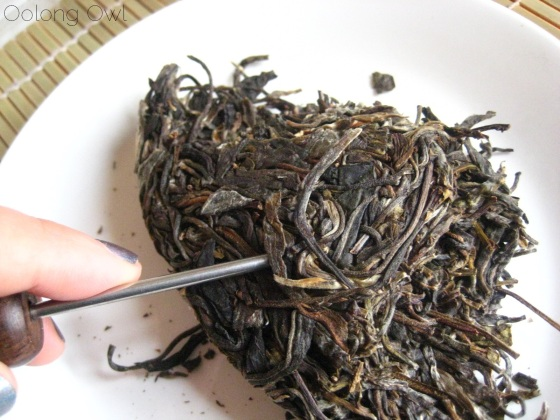 Autumn 2012 Sheng Pu er from Misty Peak Teas - Oolong Owl Tea Review (2)