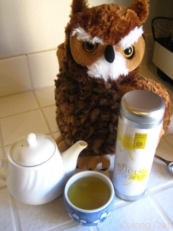 la Fleur d' Oranger from Le Palais Des Thes - Oolong Owl Tea Review (6)