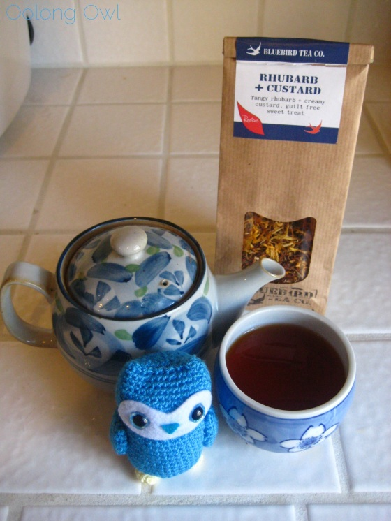 Rhubarb Custard from Bluebird Tea Co - Oolong Owl Tea Review (14)