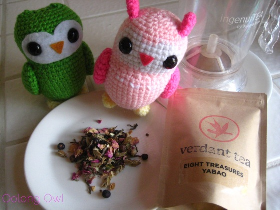 Eight Treasures Yabao from Verdant Teas - Oolong Owl tea review (3)