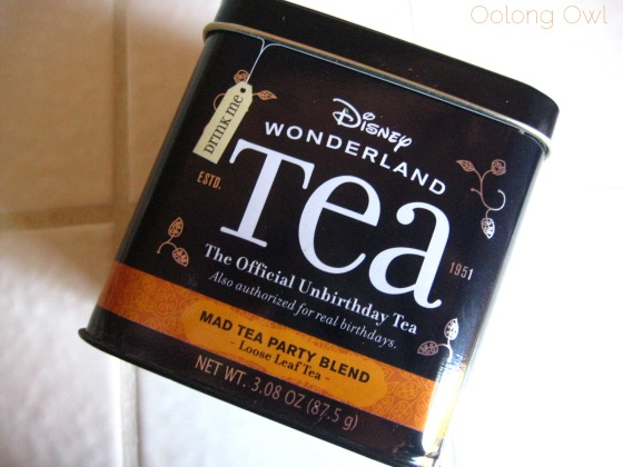 Mad Tea Party Blend from Disney Wonderland Tea - Oolong Owl Tea review (1)