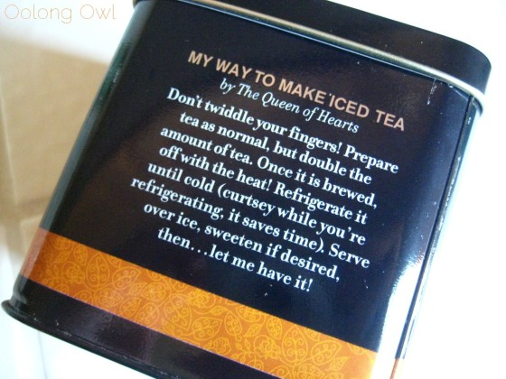 Mad Tea Party Blend from Disney Wonderland Tea - Oolong Owl Tea review (2)