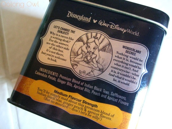 Mad Tea Party Blend from Disney Wonderland Tea - Oolong Owl Tea review (3)