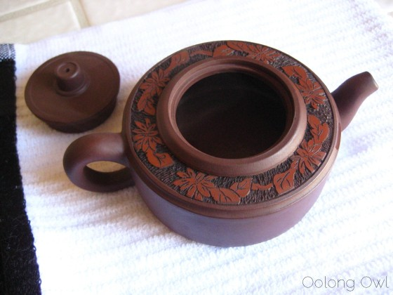 Oolong Owls THE SEASONING of yixing clay tea pot (10)