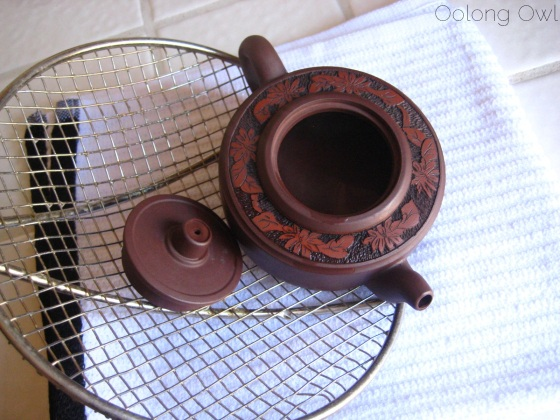 Oolong Owls THE SEASONING of yixing clay tea pot (9)